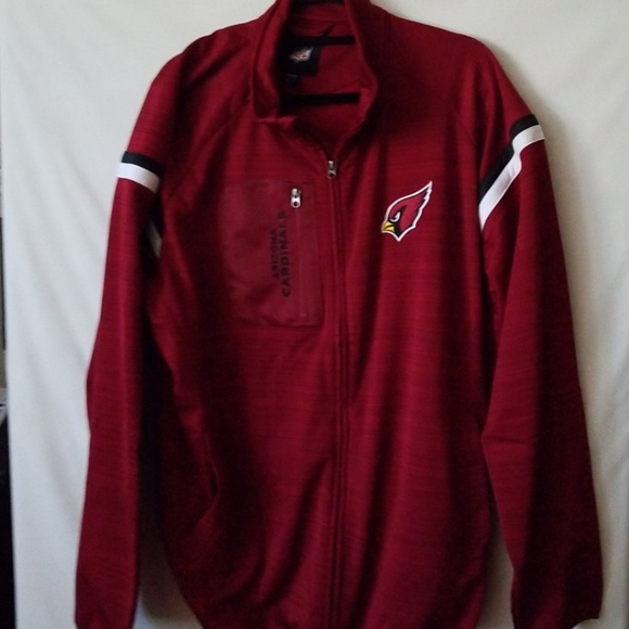 51c4f30e Arizona Cardinals track jacket size 2XL NWT